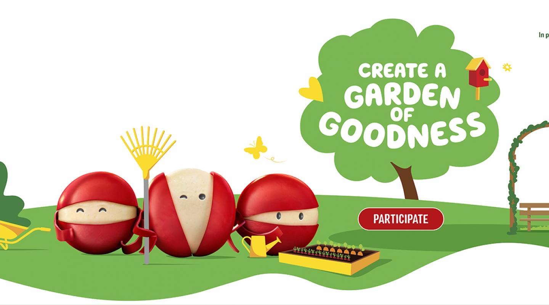 Create A Garden of Goodness Contest