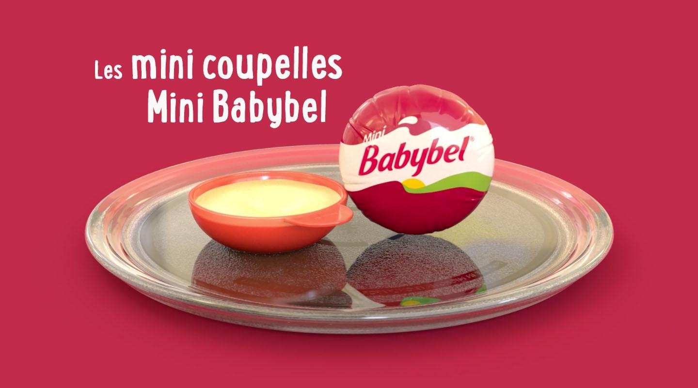 Les mini coupelles Mini Babybel