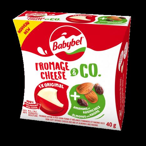 Babybel® Fromage & Co Amandes et Raisins secs