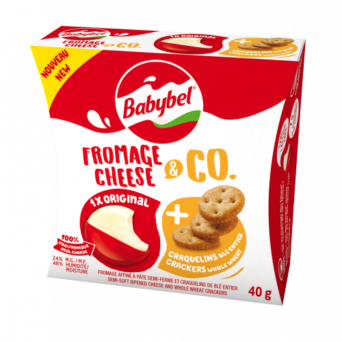 Babybel® Fromage & Co Craquelins de ble entiers